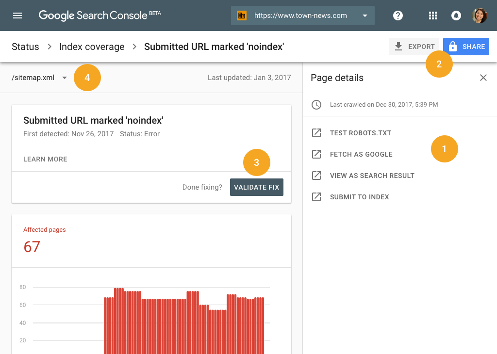 the new google beta search console is rolling out digital shifters