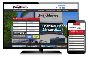 Easy Movers Web Design