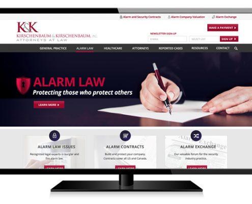 Kirschenbaum & Kirschenbaum Web Design
