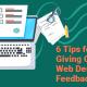 Tips for Web Design Feedback